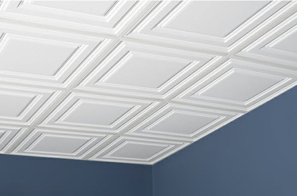 Relief Washable Ceiling Tiles
