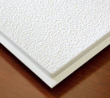 Stucco Tegular Ceiling Tiles