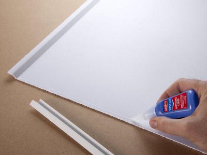 Reveal edge ceiling tile