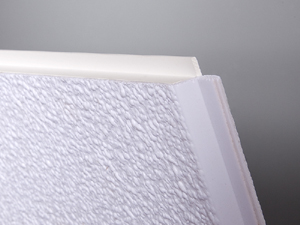 Ceiling tile trim