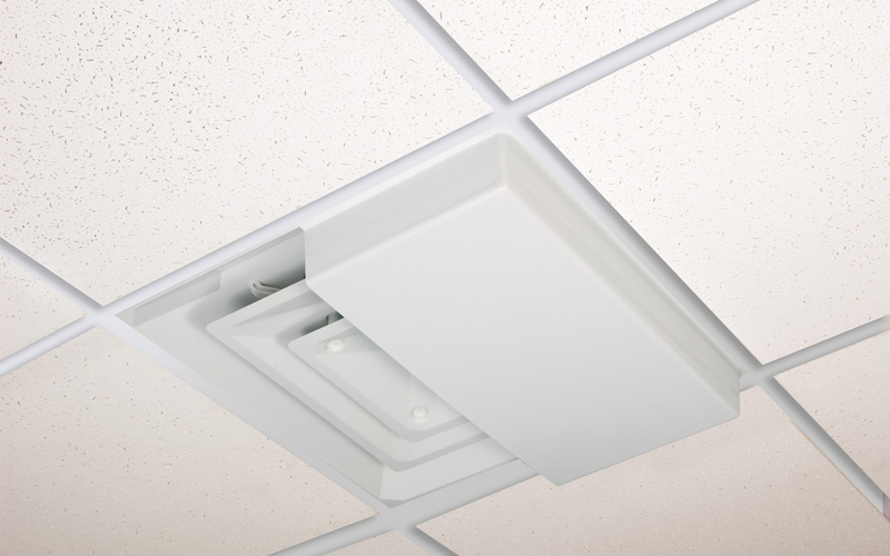 perforated ceiling grilles diverters