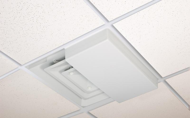 Ceiling tile vent