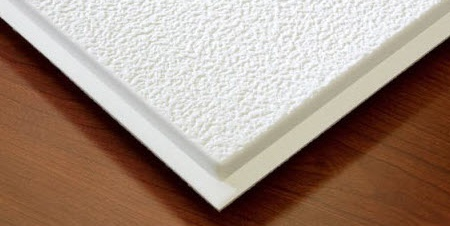 Stucco Teg Ceiling Tile