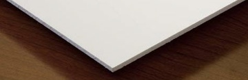 Smooth Ceiling Tiles In White