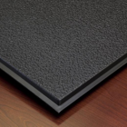 smooth black ceiling tiles