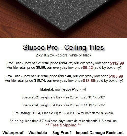 Stucco Pro Black