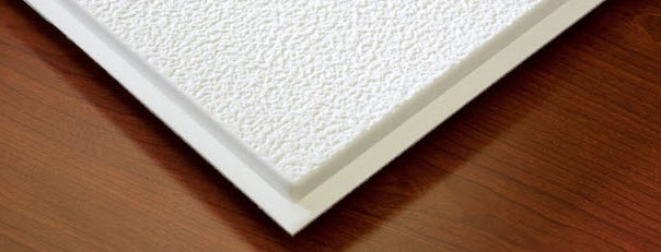Stucco Revealed Edge Ceiling Tile