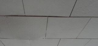 Sagging Ceiling Tiles