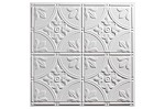 Antique 2 x 2 white  (box of 12)