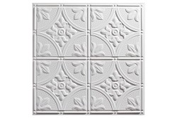 Designer Antique 2 x 2 Ceiling Tiles 752-00 - box of 12 white tiles