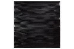 Designer Drifts 2 x 2 Ceiling Tiles 751-07 - box of 12 black tiles