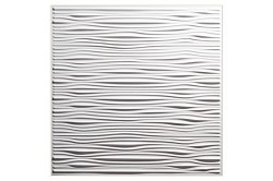 Designer Drifts 2 x 2 Ceiling Tiles 751-00 - box of 12 white tiles