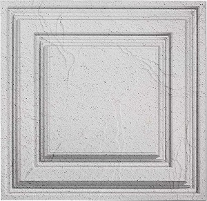 Designer Icon Relief 2 x 2 Ceiling Tile 754-40 - box of 12 Shoreline tiles