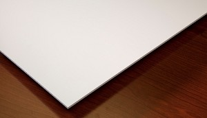 Genesis Smooth Pro 2 x 4 Ceiling Tile - white - box of 10 tiles