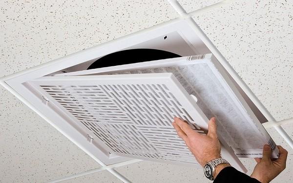 Filtered Ceiling Air Return