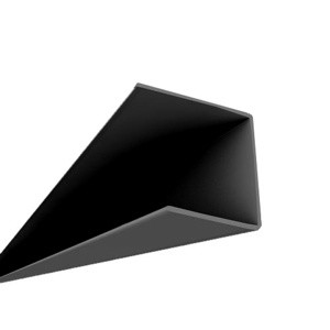 Black Surface Mount Ceiling Grid: 8' Wall Brackets (24 per box)